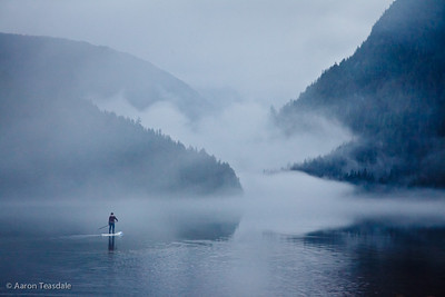 Standup Paddling the Great Bear Rainforest